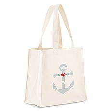 Anchor Personalized Tote Bag