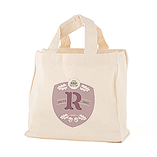 Acorn Monogram Personalized Tote Bag