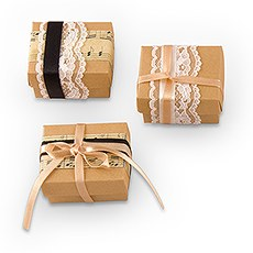 Vintage Style Favor  Wrapping Kit (12)