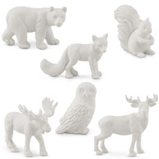 Miniature Woodland Assorted Animal Set