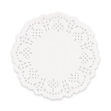 White Lace Paper Doilies