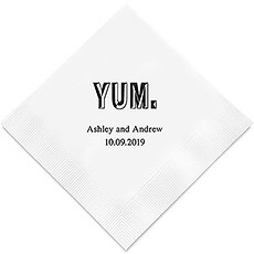 Yum Printed Napkins