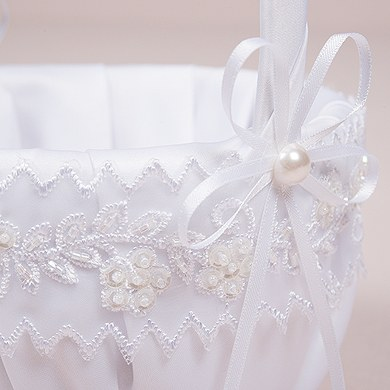 Sweet Art Flower Girl Basket