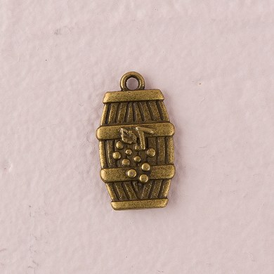 Wine Barrel Charm