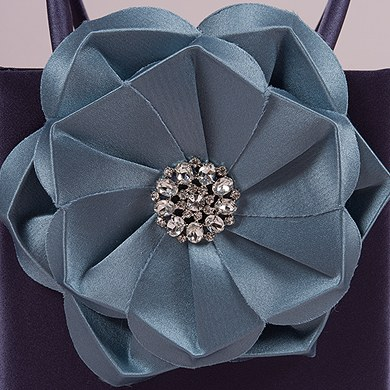 The Stephanie Color Personality Flower Girl Petal Purse