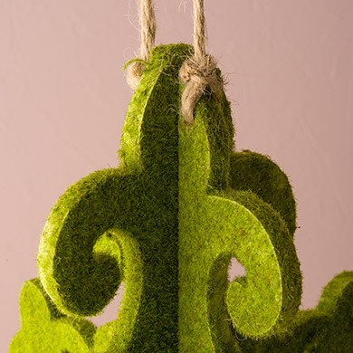 Decorative Artificial Moss Chandelier Wedding Decoration Small