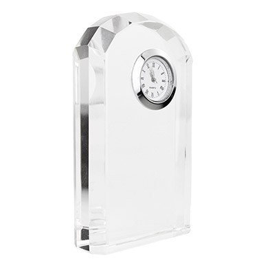 Crystal Clock Personalized