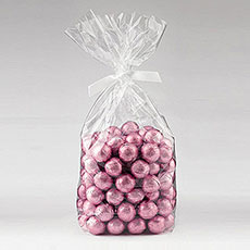 Foil Wrapped Ball Favor Chocolates Pack