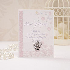 Maid of Honour Angel Pin