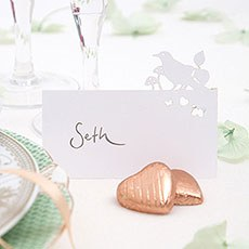 Laser Cut Out Bird Place Cards Pack