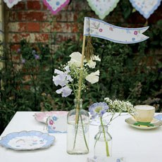 Love in the Afternoon Table Flags