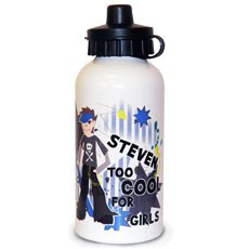 Personalized Too Cool Boy's Drink Bottle Gift