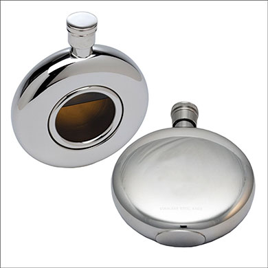 Round Window Flask