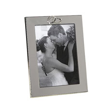 Amore Silverplated Frame With Rings