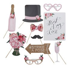 Wedding Photo Booth Props Assortment