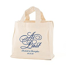 At Last Personalized Tote Bag