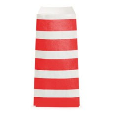 Striped Utensil Bags - Red