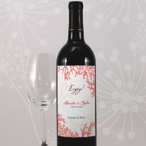 Reef Coral Wine Label