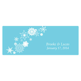 Winter Finery Small Wedding Window Cling