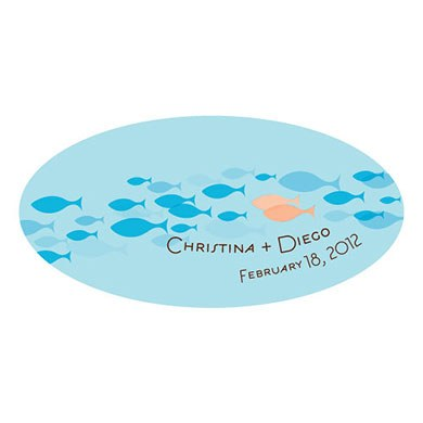 Of All The Fish In The Sea Small Window Cling