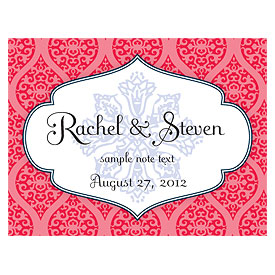 Moroccan Wedding Note Card
