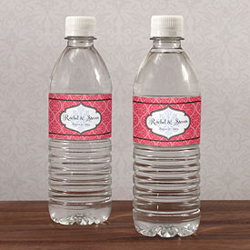 Moroccan Wedding Water Bottle Wrap