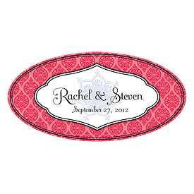 Moroccan Small Wedding Window Cling