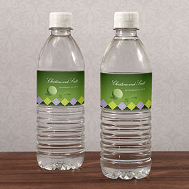Golf Water Bottle Labels