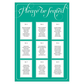 Expressions Wedding Table Seating Chart