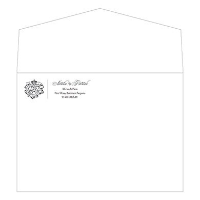 5 x 7 Signature Wedding Invitation Envelopes