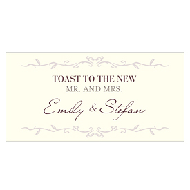 Equestrian Love Wedding Small Ticket