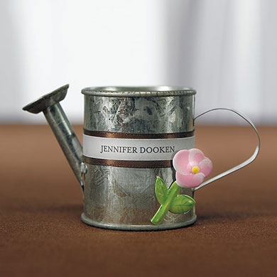 Decorative Wedding Favors Tin Flowers