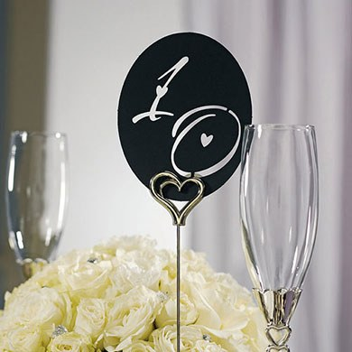 Laser Expressions Decorative Die Cut Wedding Number Set