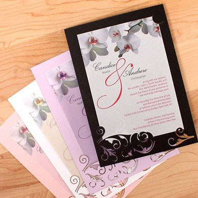 Laser Expressions Double-Luxe Invitation