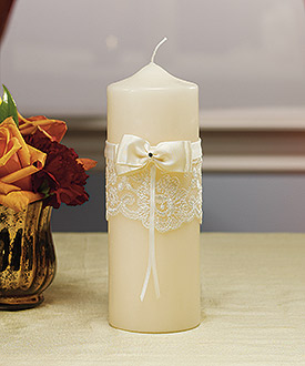 Beverly Clark French Lace Collection Candle