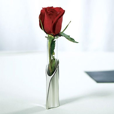 Single Flower Wedding Reception Tube Vase