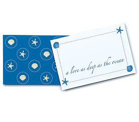 Beach Theme Favor and Gift Tags