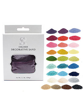Ceremony Crystalline Quartz Colored Sand Accessory
