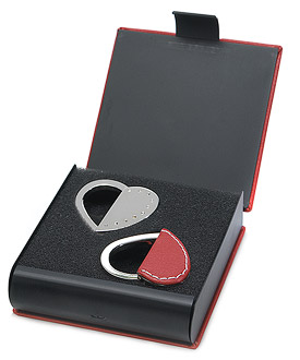 Heart Key Rings Wedding Gift Set