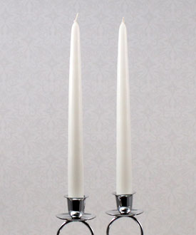 Taper Wedding Candles
