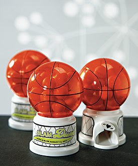 Basketball Theme Gumball Machine Wedding Favor