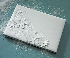 Winter Finery Wedding Reception Guest Book