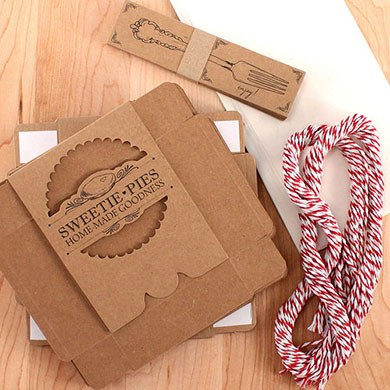 Sweetie Pie DIY Wrapping Kit For Mini Pies