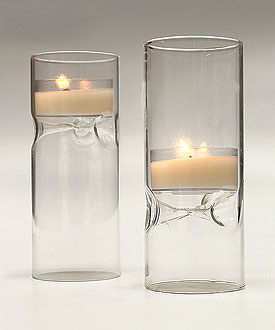 Reversible Blown Glass Luminaries