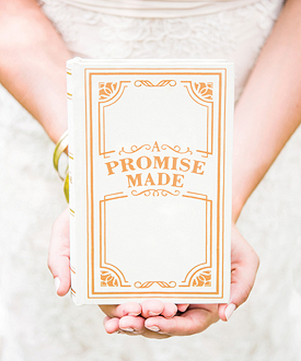 A Promise Made Vintage Inspired Jewelry Book Box