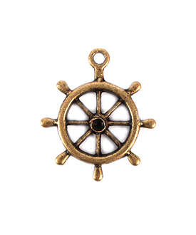Boat Wheel Charm