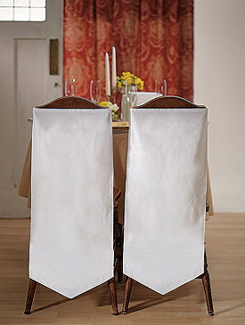 Linen Chair Banners - Plain