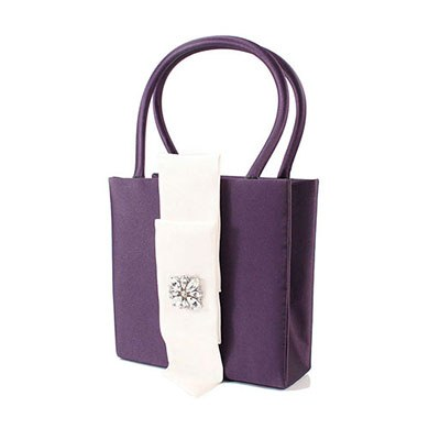 The Nicole Color Personality Flower Girl Petal Purse