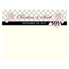 Eclectic Patterns Note Card