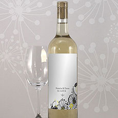 Floral Fusion Wine Label